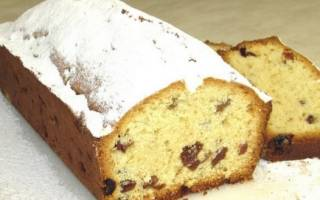 Рецепт кекса классического