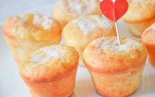 Рецепт кексов маленьких