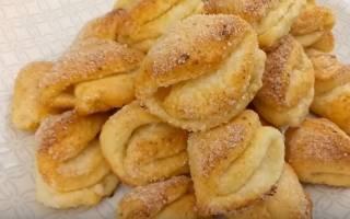 Печенье из творога треугольники