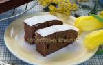 Бисквитный пирог с вареньем