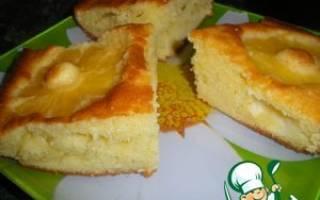Ананасовый пирог рецепт