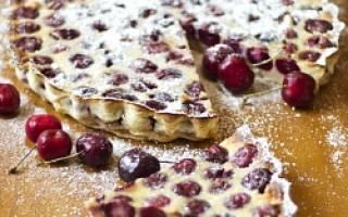 Пирог клафути рецепт
