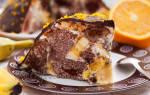 Торт с апельсинами и бананами