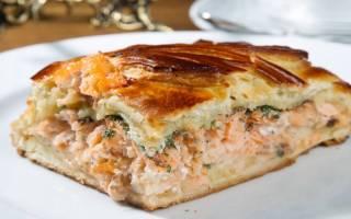 Пирог в мультиварке с рыбой