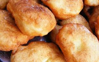 Пончики пышные рецепт