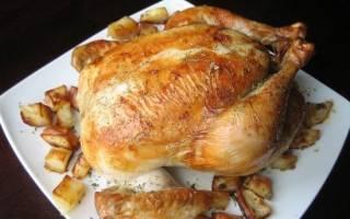 При какой температуре жарить курицу