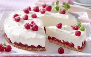 Рецепт йогуртного торта
