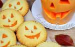Печенье из тыквы на хэллоуин