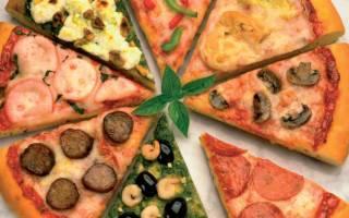 Тесто для пиццы мягкое