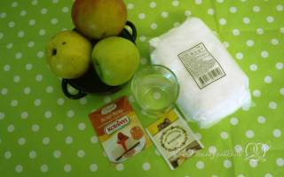 Яблочный зефир на агаре рецепт