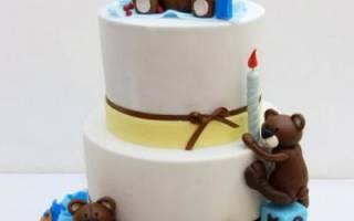 Торт мимимишки из мастики