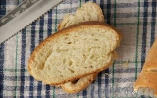 Хлеб в духовке на воде
