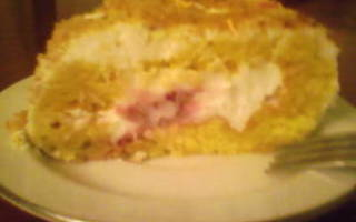 Торт из рулетов