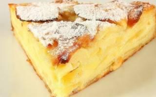 Пирог из кислых яблок