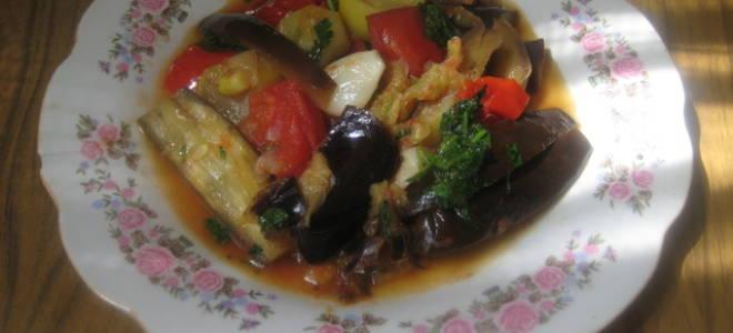 Тушеные овощи по армянски