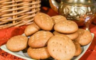 Песочное печенье с медом