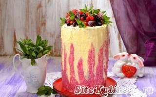 Торт с вертикальными коржами