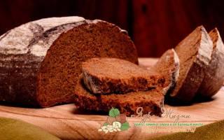 Тесто для хлеба из ржаной муки