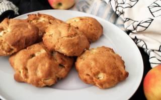 Печенье из яблочного пюре