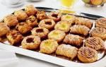 Печенье из бездрожжевого слоеного теста