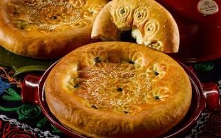 Узбекские лепешки в духовке рецепт