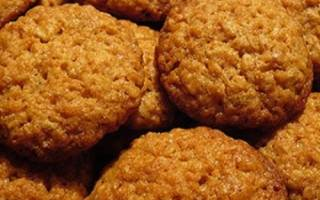 Печенье из геркулеса и кефира