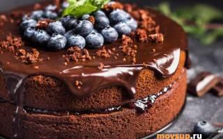 Торт в мультиварке с какао