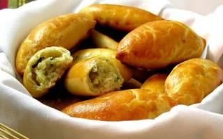 Пирожки постные с картошкой