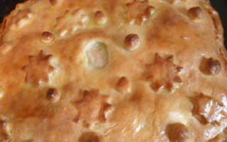 Пирог с хеком рецепт