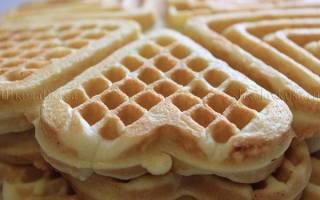 Печенье на сковороде на газу