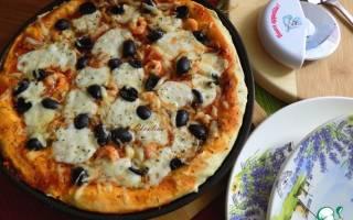 Пицца с креветками рецепт