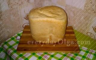 Хлеб в хлебопечке на воде