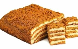 Торт из печенья топленое молоко