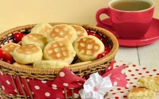 Печенье на сковороде без сметаны